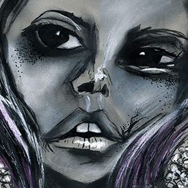 Embellished Portraits Series